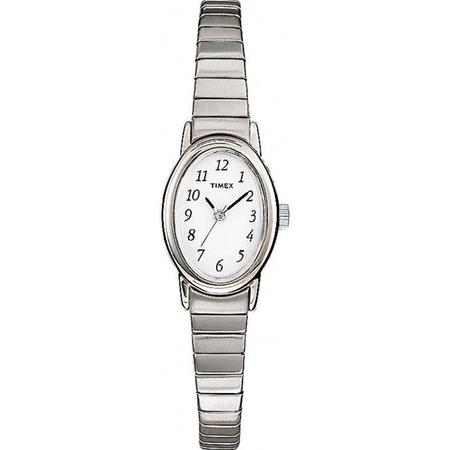Women's T21902 Cavatina Watch, Silver-Tone Stainless Steel Expansion (Dkny Ladies Silver Watch)
