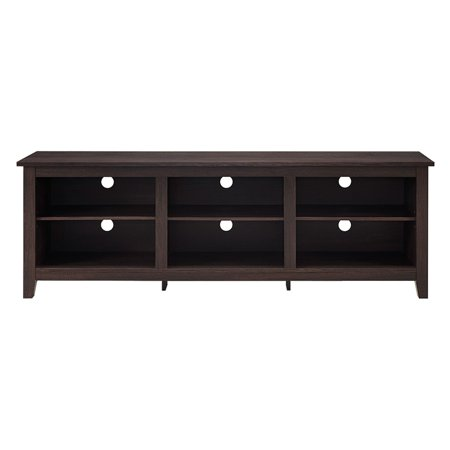 70 Wood Tv Media Storage Stand For Tvs Up To 75 Multiple