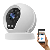 MobiCam Multi-Purpose, Wi-Fi Video Baby Monitor, Baby Monitoring System, Wi-Fi Camera