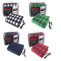 Electric Heater Car Blanket- Heated Travel Throw Electric Blanket for Car and RV, 12 volt by Stalwart