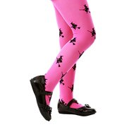 4c925d5a03977 Inc. Pink Mid-Rise Witch Halloween Children's Cosplay Costume Tights