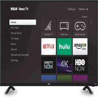 "RCA 50"" Class 4K Ultra HD (2160P) HDR Roku Smart LED TV (RTRU5027-W)"