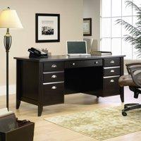Sauder Shoal Creek Executive Desk, Multiple Finishes