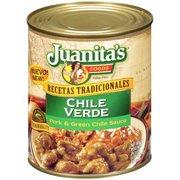 Juanita's Foods Chile Verde Pork & Green Chile Sauce, 29.5 oz