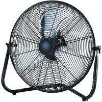 "Mainstays 20"" High Velocity Fan, Black"