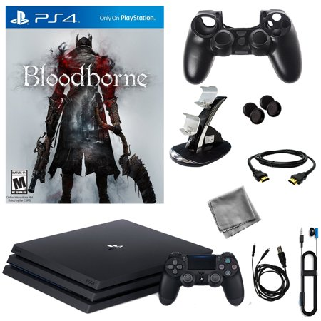 PlayStation 4 Pro 1TB Console With Bloodborne & 8 in 1