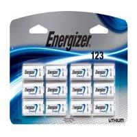 Energizer Lithium 123 Photo Batteries 12/Pk