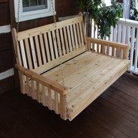 Furniture Barn USA™ Cedar Classic Swing Bed