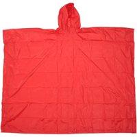 Ozark Trail® Lightweight Red Rain Poncho Bag