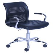 Mainstays Vinyl And Mesh Swivel Task Office Chair, with Arms