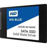 """WD Blue 3D NAND 250GB SATA 2.5"""" 7mm SSD (Solid State Drive) - WDS250G2B0A"""