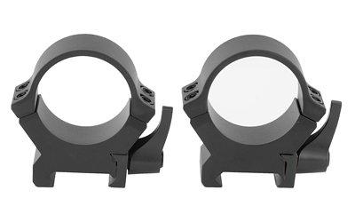 Leupold QRW2 Quick Detach 30mm Medium Scope Rings, Matte Black - 174076 ()