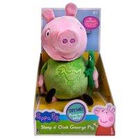"Peppa Pig 12"" Plush Sleep N' Oink George"