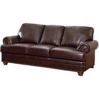 Coaster Company Colton Sofa, Brown Leather