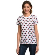 aaaeb50a3f4 Juniors Mickey Mouse Icons All-Over T-Shirt White