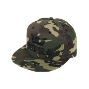 599e29fb9922c Supra Mens Above Snap Adjustable Snapback Cap Embroidered Camo Black Hat