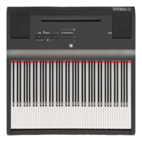 Yamaha P125 88 Weighted Key Digital Piano with CF Sound Engine and Damper Resonance DSP, Black