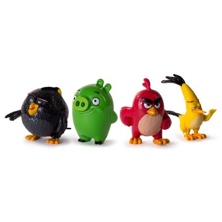 Angry Birds Collectible Figures 4-Pack - Get The Angry Birds Halloween Toys