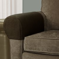 Mainstays Pixel Stretch 2 Piece Furniture Arm Covers Slipcovers