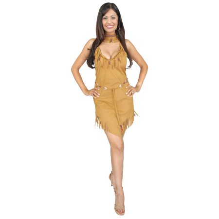Halloween Pocahontas Adult Costume - Pochahontas Dress