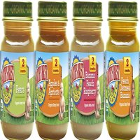 Earth's Best Organic Stage 2 Baby Food, Favorite Fruits Variety Pack, 4 Ounce Jars, Pack of 12