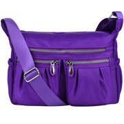253909e697 Vbiger Women Shoulder Bags Messenger Handbags Multi Pocket Waterproof Crossbody  Bags