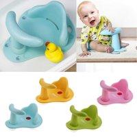 Baby Bath Tub Ring Seat Infant Child Toddler Kids Anti Slip Safety Chair green