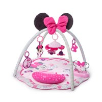 Disney Baby Minnie Mouse Garden Fun Activity Gym Play Mat with Melodies