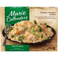 Marie Callender's Frozen Dinner, Cheesy Chicken & Rice, 13 Ounce