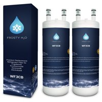 WF3CB Frigidaire Water Filter Replacement Compatible with Frigidaire WF3CB Puresource 3 Puresource3 Pure Source 3 Refrigerator Water Filter (2 Pack)