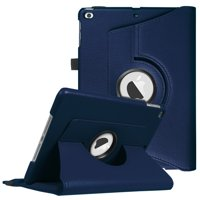 Fintie iPad 6th / 5th Gen, iPad Air /Air 2 Case - 360 Degree Rotating Stand Cover with Auto Sleep Wake, Navy
