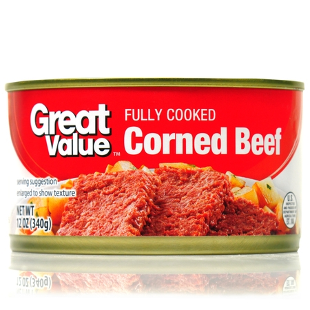 - (2 Pack) Great Value Corned Beef, 12 oz