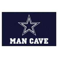 NFL - Dallas Cowboys Man Cave Tailgater Rug 5'x6'