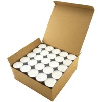 Stonebriar Tea Light Candles 6-7 Hour, Pack of 100