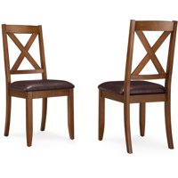 Better Homes & Gardens Maddox Crossing Dining Chair, Set of 2, Brown