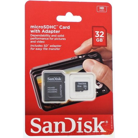 Sandisk 32g Class4 Microsd (1.3 Mp Camera Microsd)