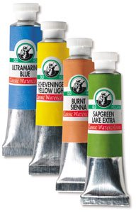 Old Holland Classic Artist Watercolor - Indian Yellow Green Lake Extra, 6 ml tube