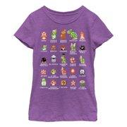 b52747bd74d Nintendo Girls  Super Mario Bros Character Guide T-Shirt