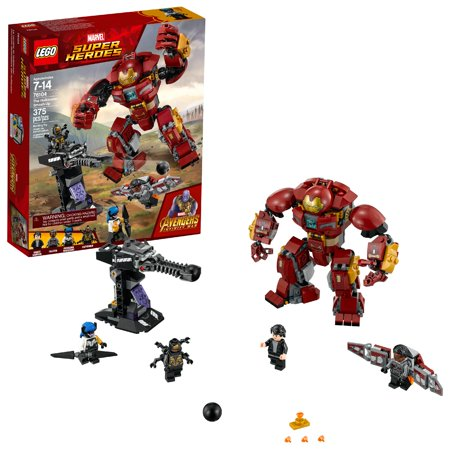 LEGO Super Heroes Marvel The Hulkbuster Smash-Up (Cool Easy Things To Build With Legos)
