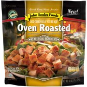 John Soules Foods Oven Roasted Diced Chicken, 16oz (Frozen)