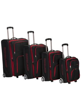 Rockland Luggage Varsity 4-Piece Softside Expandable Luggage Set