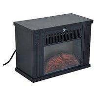 HomCom 14 in. 1000 Watt Free Standing Electric Fireplace
