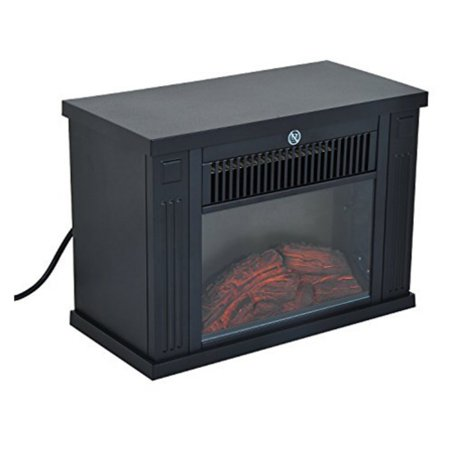 Homcom 14 In 1000 Watt Free Standing Electric Fireplace Walmart Com