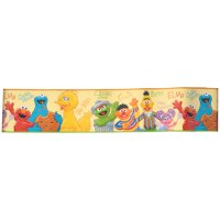 Sesame Street® Peel and Stick Border 15 ft. Carded Pack