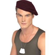 c35f8a0fd5193 Red Soldiers Beret Halloween Accessory