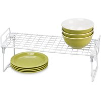 "Honey Can Do Stackable Kitchen Shelving Organizer Rack, 18"" x 7"""
