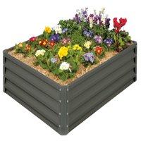 Raised Garden Bed- Slate Gray