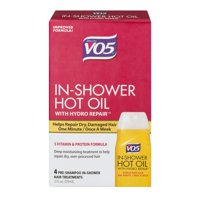 Alberto VO5 Hot Oil Shower Works Weekly Deep Conditioning Treatment, 2 Oz