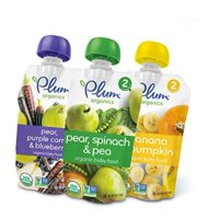 (18 Count) Plum Organics Baby Food Variety Pack