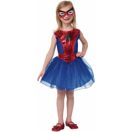 Marvel Spider-Girl Girls' Child Halloween Costume](Diy Halloween Costumes For Girls Age 9)